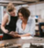 Frauen in der Werkstatt