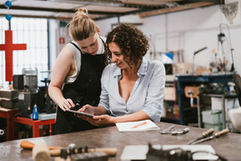 Les femmes en atelier