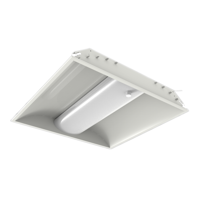 LED Center Basket Troffer Light, 2x2 LED Troffer, LED