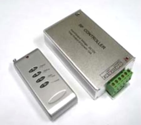 LED RF Remote & Power for RGB chase LED