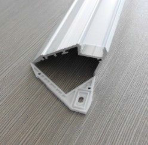 LED Aluminum Channel (Stairs / Upward light / 1 LED strip)