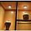 LED cabinet puck spotlights