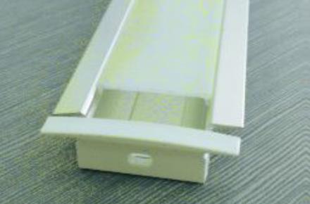 LED Aluminum Channel (Recess mount/Reflector/ 1 LED strip)