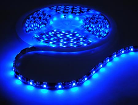 LED ribbon light blue
