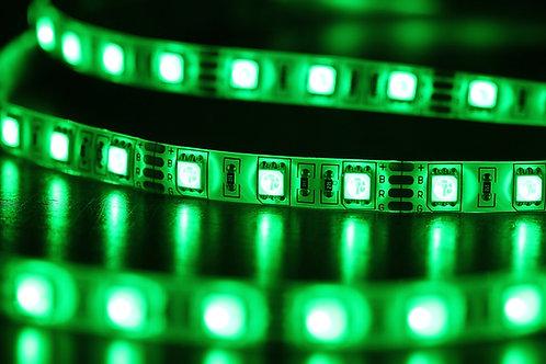 LED strip light green