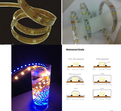 led waterproof strip ribbon