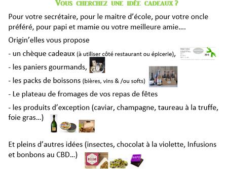 Préparez les Fêtes : Plateaux de fromages, Cadeaux, Champagne ...