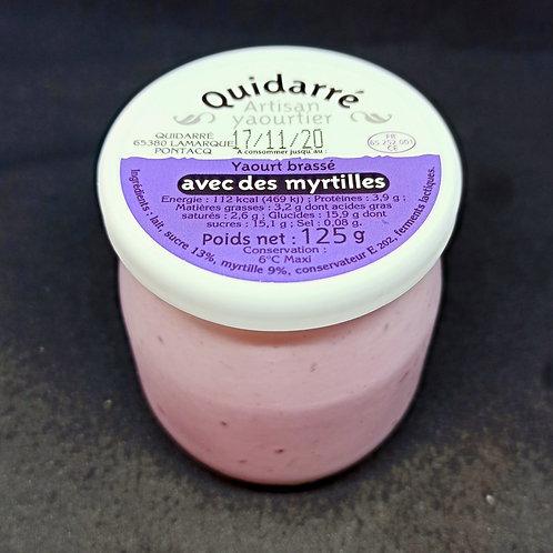 Yaourt Quidarré brassé aux fruits