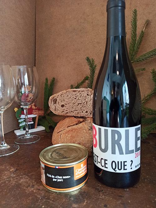 Coffret Vin et Pâté