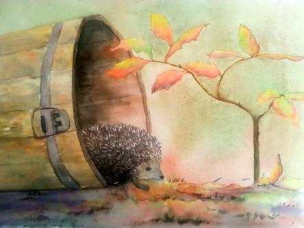 Expo : aquarelle nature automne et ville