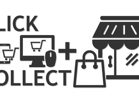Le Click & Collect est en ligne !
