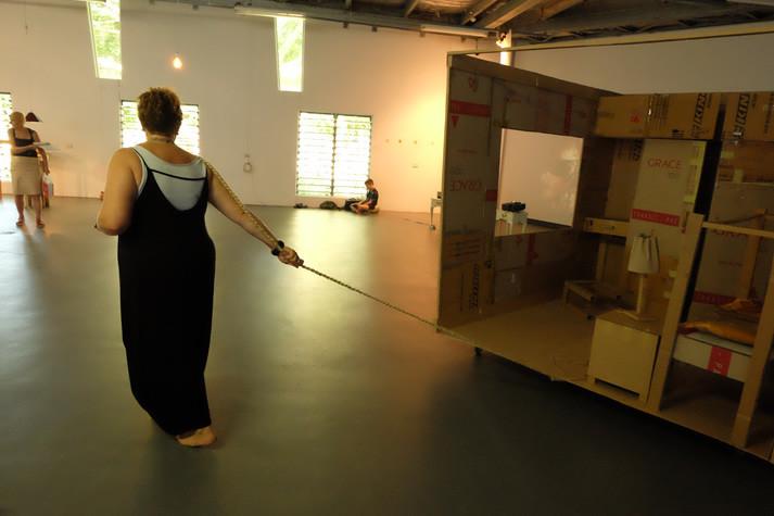 The Spare Room as performance piece