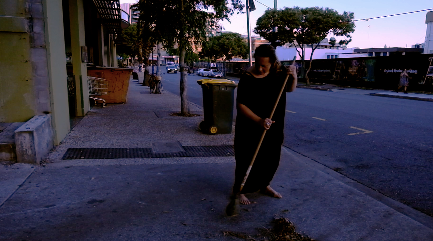 The Swept Yard