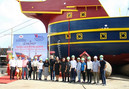 LAUNCHING OF NOVALAND'S 122 PAX PASSENGER SHIP