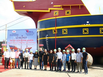 LAUNCHING OF NOVALAND'S 122 PAX PASSENGER SHIP
