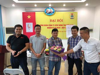 Đại hội công đoàn Công ty cổ phần kỹ thuật đóng tàu Việt Nam lần thứ IV, nhiệm kỳ (2018 -2021)