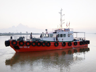 Bàn giao đưa vào hoạt động tàu HOA TIÊU 02 ( V086)