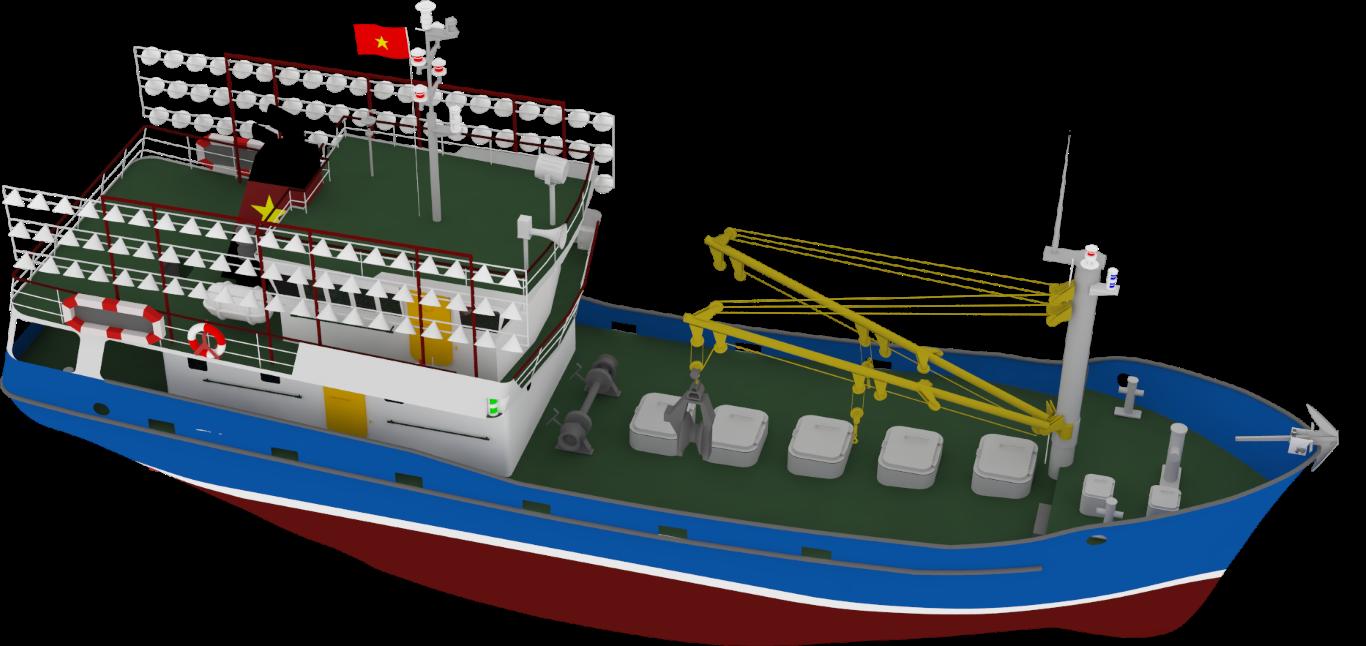Seiner European fishing vessel
