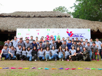 Liên hoan cuối năm công ty Visec năm 2018