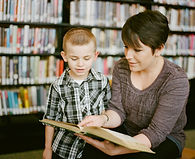 The Nurture Room | Tutoring | Colchester | A young boy receives tuition  to build confidence in reading