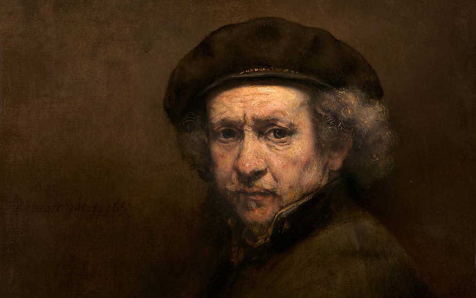 Self-Portrait-canvas-Rembrandt-van-Rijn-