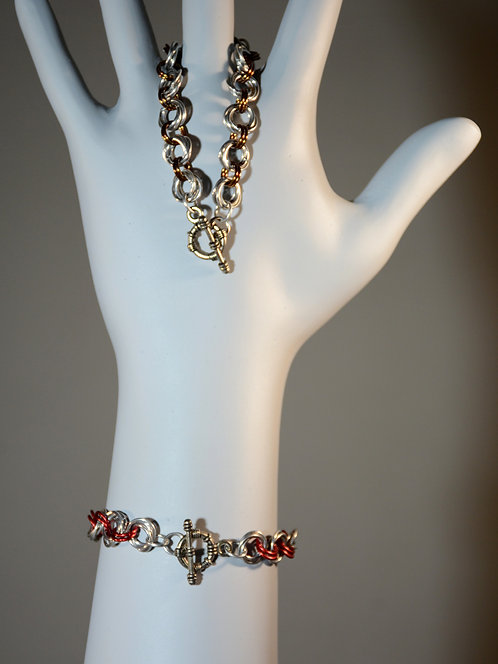 Mobius Chainmail Weave Bracelet accessory jewelry