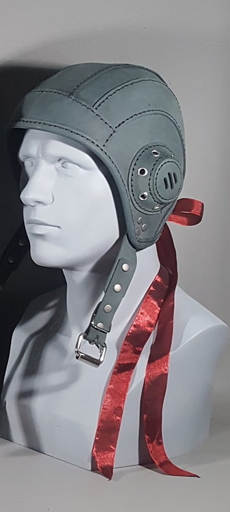 Laced Aviator Leather Masquerade / Costume Mask
