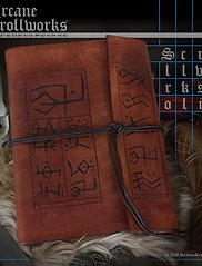 Scrollworks Folio made exclusively for Skeletonkey Games