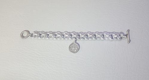 Zodiac Helm Weave Chainmail Bracelet by Red Stick Studio