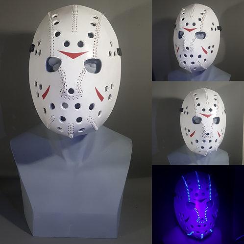 Leather Hockey Mask, Created from Pattern via Leatherhub