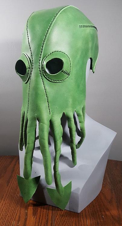 Kraken Leather Mask, cthulhu mask masquerade / costume mask