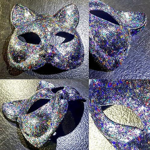Glitter Cat Mask by Red Stick Studio