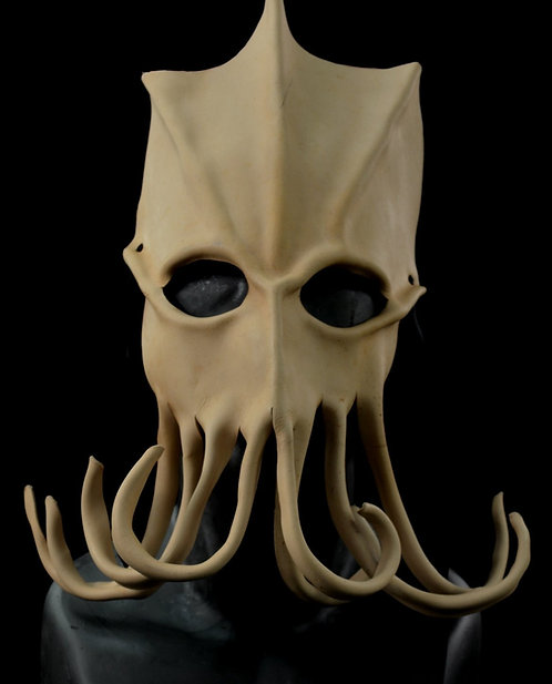Marianus Trench Creeper Leather Masquerade / Costume Mask