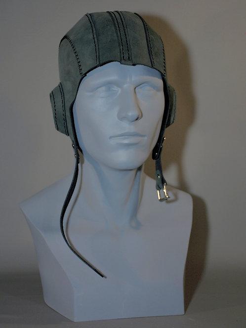 Leather Aviator Helmet masquerade / costume accessory