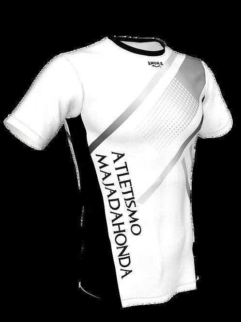 Camiseta con manga masculina