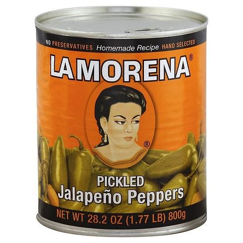 Jalapenos Enteros La Morena 800g