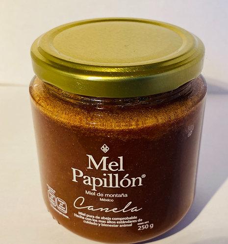 Miel de abeja con canela (Honey with cinnamon) 250g