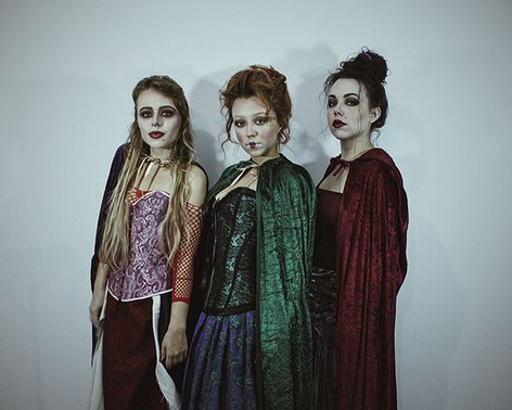 VON GREY as The Sanderson Sisters