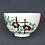 Thumbnail: 色絵 鉄線絵茶碗 粟田焼
