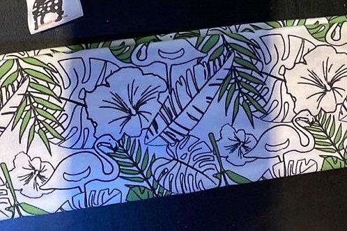 "Pannebånd med ""lyser i mørket"" mønster"