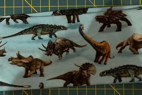 Pannebånd med dinosaurer