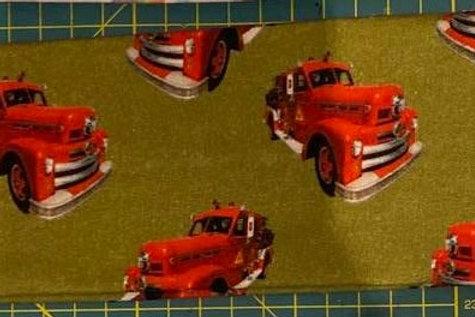 Pannebånd med brannbiler
