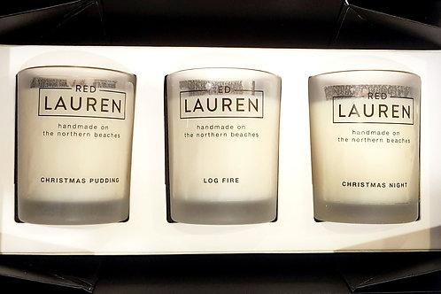 Trio Gift Box with Christmas Fragrances