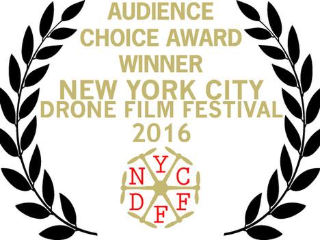 Postandfly gana de nuevo en el NYC Drone Film Festival.