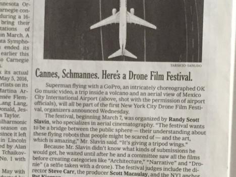 Postandfly en el impreso del New York Times