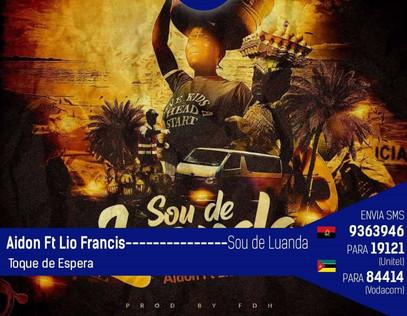 Sou de Luanda nos vossos telefones... #Aidon
