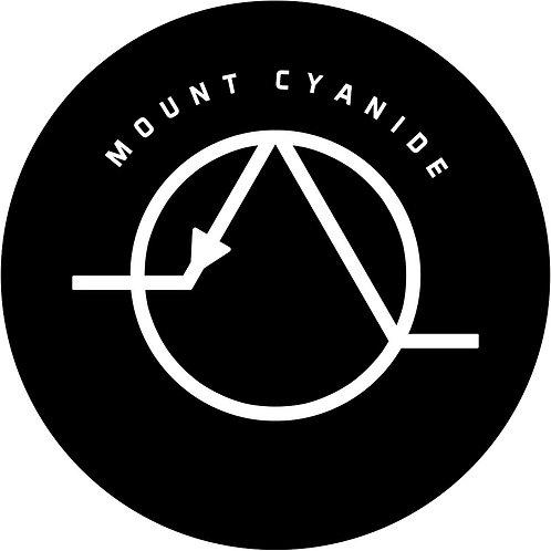 """""""Mount Cyanide"""" Sticker"""