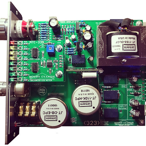 323 Discrete Mic / Instrument Preamp (Jensen Transformers)
