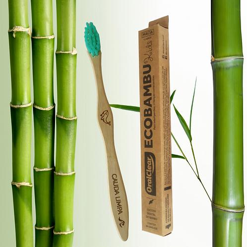 Escova Infantil de Bambu - Verde
