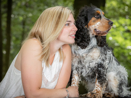 13/06 : Séances photos portraits chien-humain à Wavre